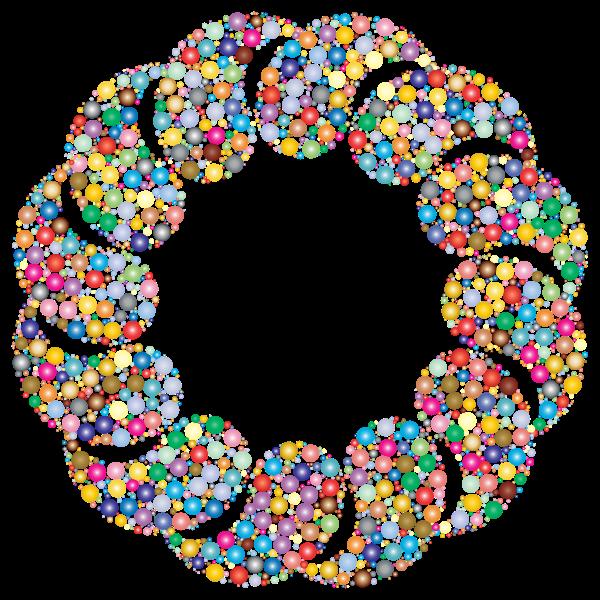 Circles Frame Design Prismatic