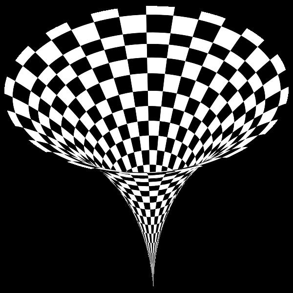 3D Checkerboard Vortex