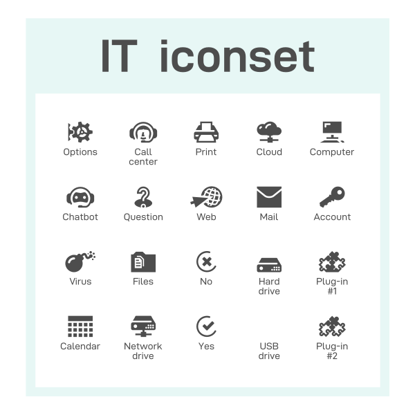IT iconset