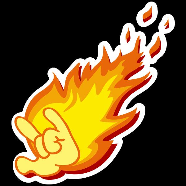 Flaming Heavy Metal Horns