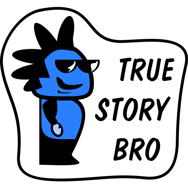 Icon Sticker - True Story