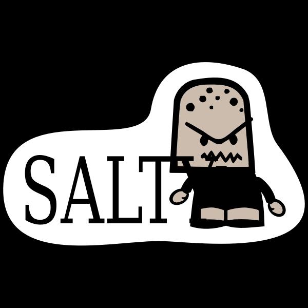 Icon Sticker - Salty
