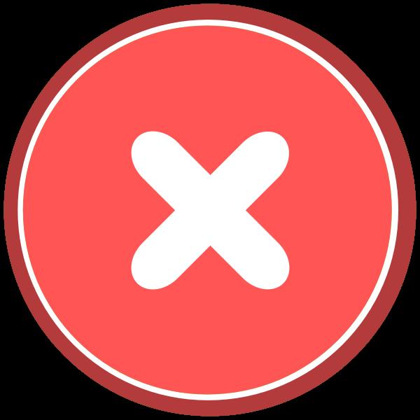 Error Icon (rounded)