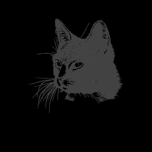 A Cats Head Free Svg