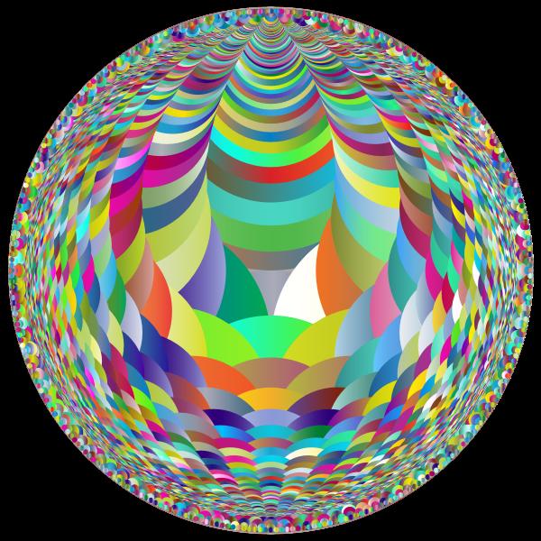 Circles Fractal Polyprismatic