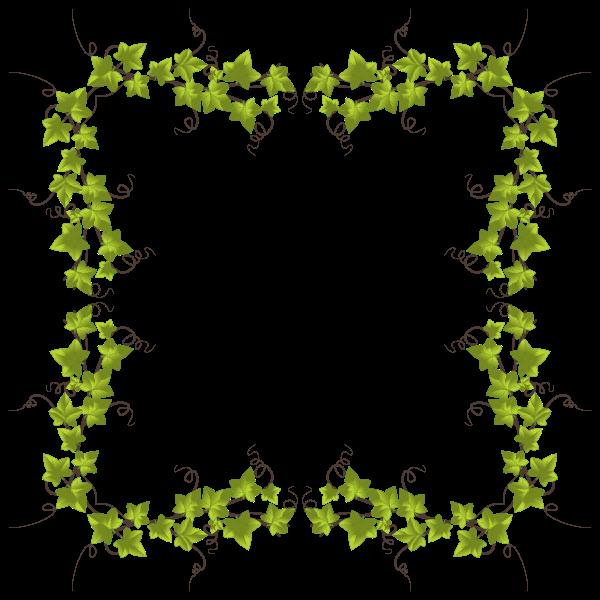 Ivy Leaves Frame 10