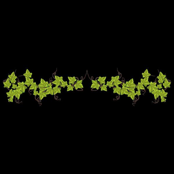 Ivy Leaves Divider