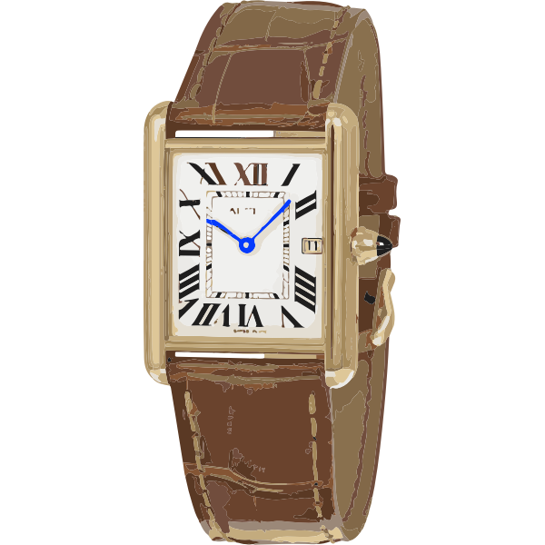 swiss iconic watch in gold - horlogerie