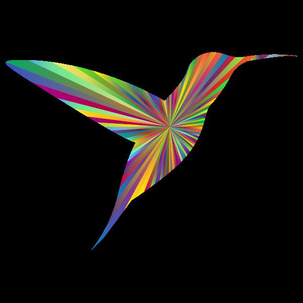 Hummingbird Silhouette 5 Polyprismatic