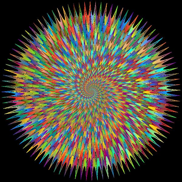 Abstract Vortex 83 Polyprismatic 2 No BG