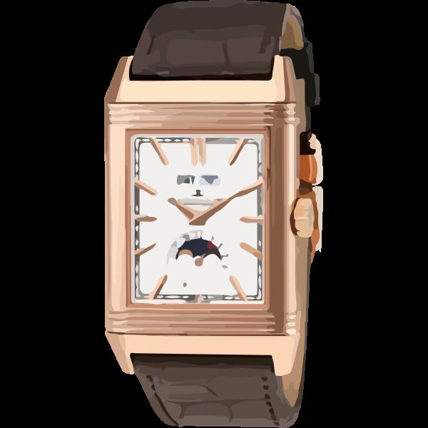 vintage classic rose gold swiss watch - horlogerie