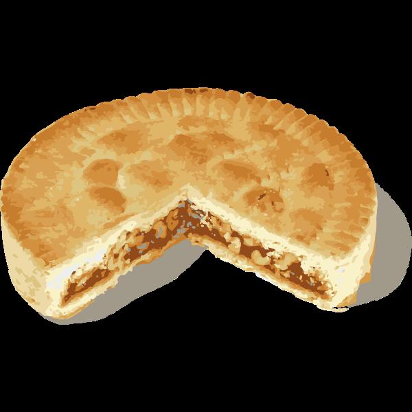 swiss nut pie - swiss pastry