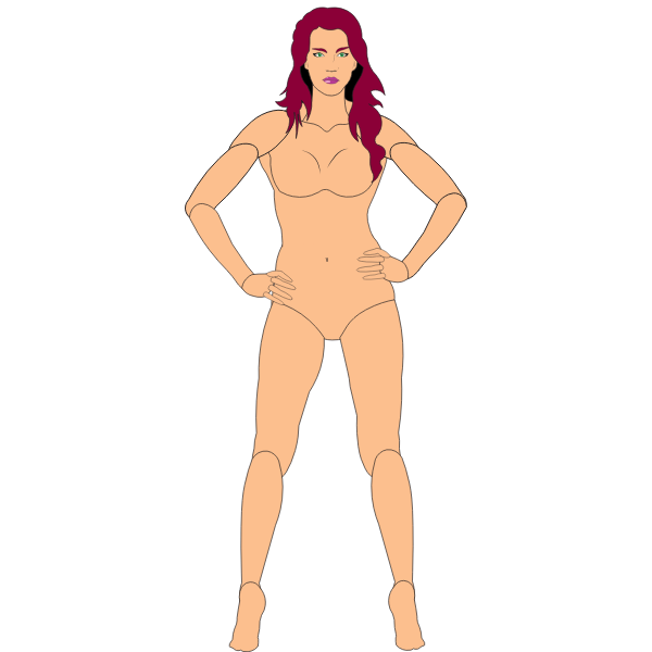 Vector Puppet - Female