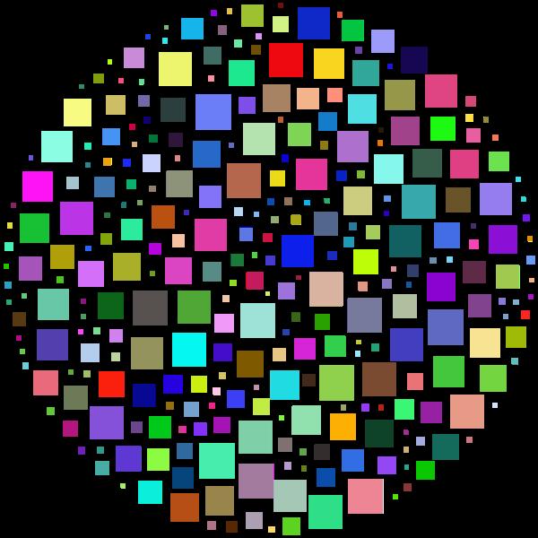 Square Circle Prismatic