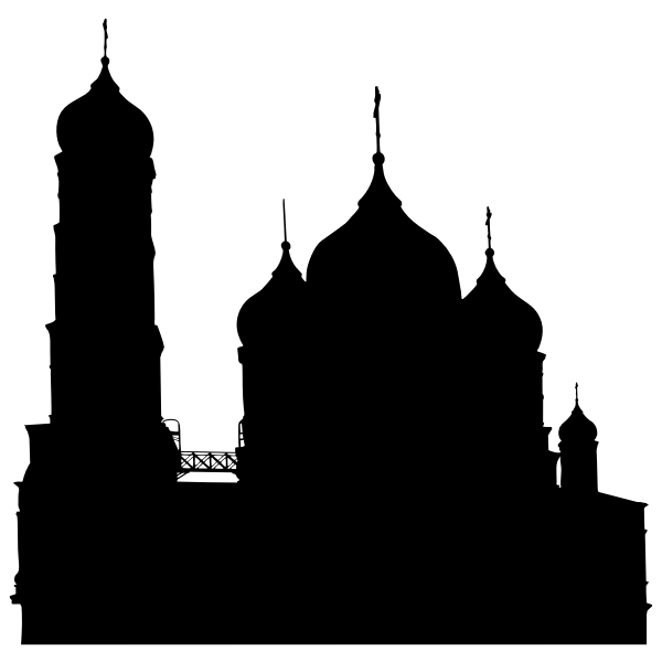Orthodox Church Silhouette