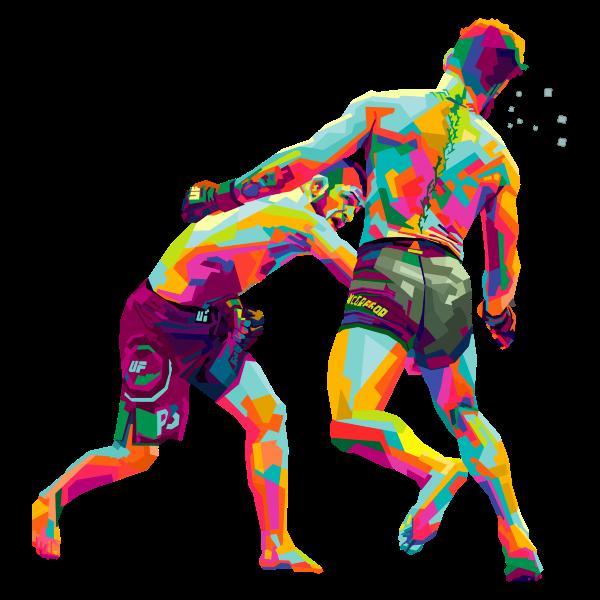 Khabib Versus McGreggor MMA WPAP