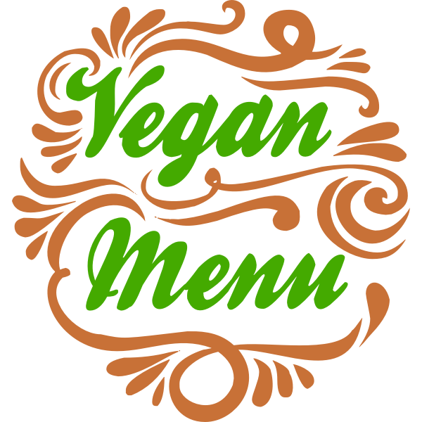 Isolated Vegan Icons 3