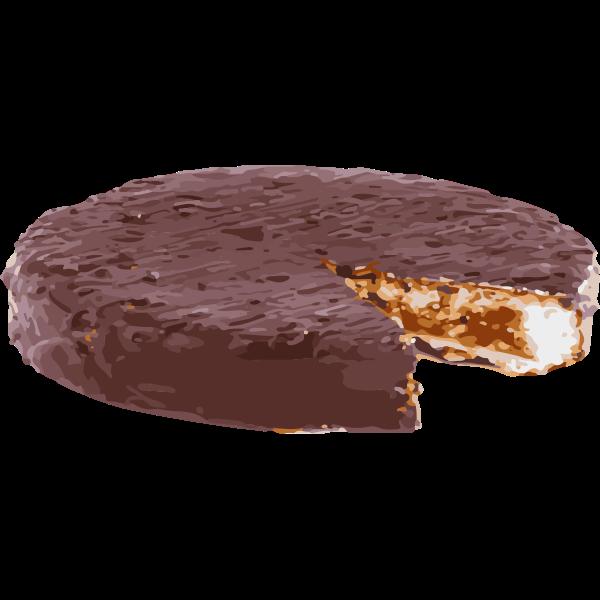swiss chocolate and hazelnut cake - swiss pastry