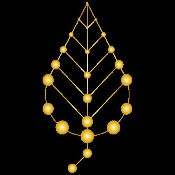 Molecular Leaf Gold