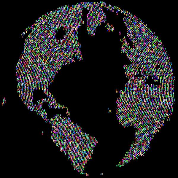 Peace On Earth Globe Prismatic