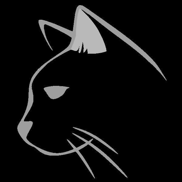 Cat Icon Grey