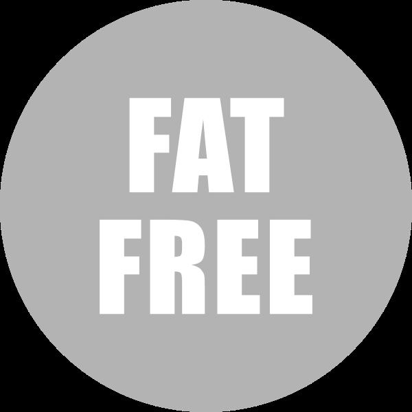Fat Free Icon Gray