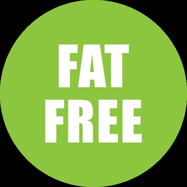 Fat Free sticker