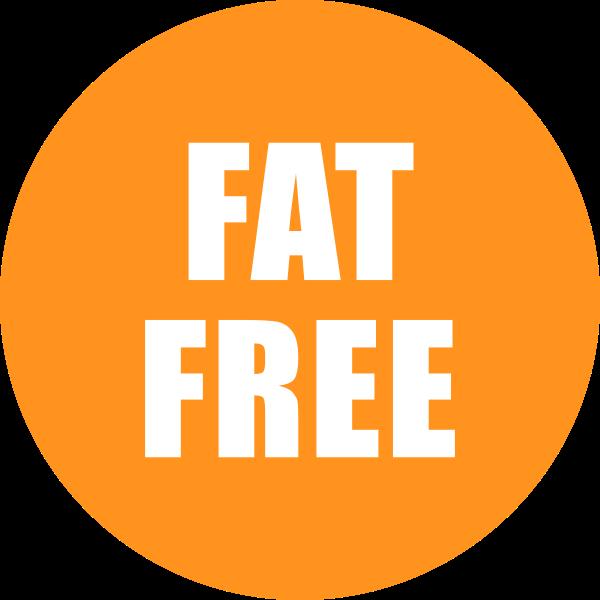 Fat Free Icon Orange