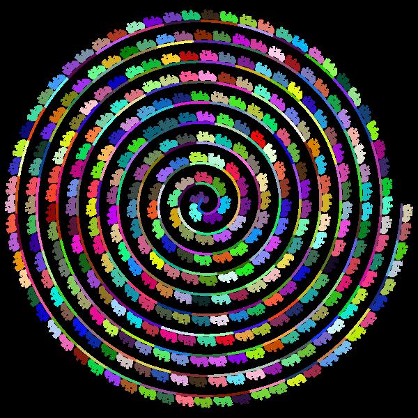 Roller Coaster Spiral Prismatic
