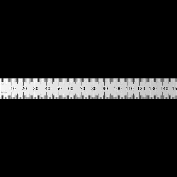 Shinwa 15cm ruler