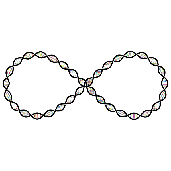 DNA Helix Infinity Polyprismatic
