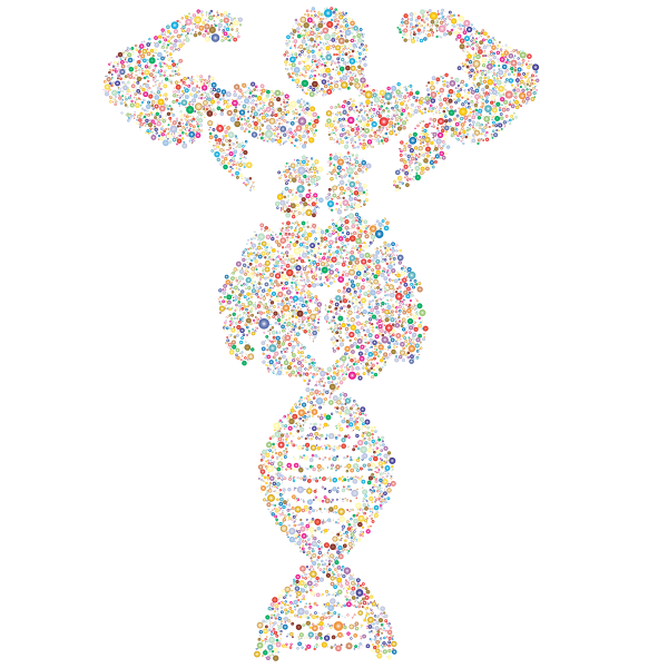 Bodybuilder DNA Circles Prismatic 2