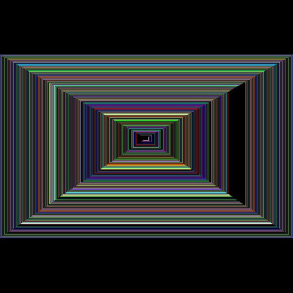3D Perspective Grid Dense Prismatic