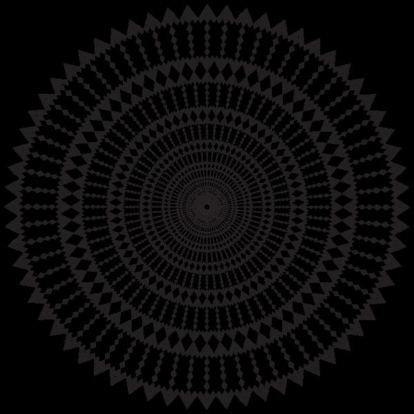 Geometric Style Mandala