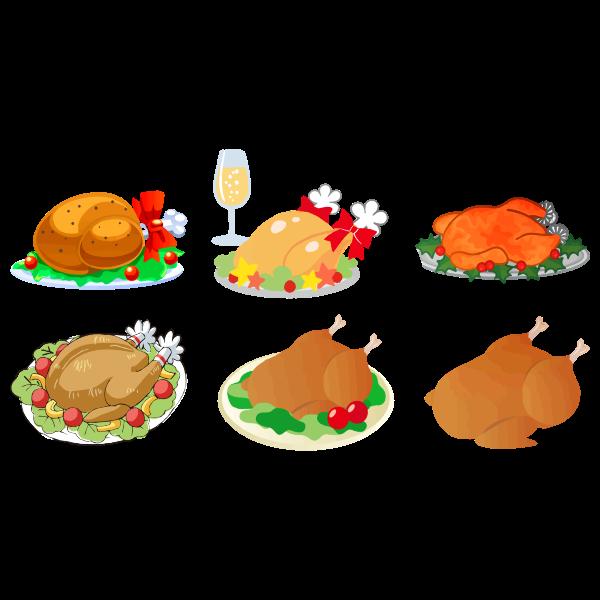 Turkey dinners variety