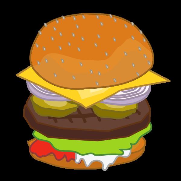Put Together Hamburger