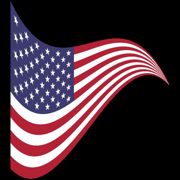 American Flag Stylized 2