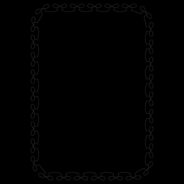 Knot Border (A4 size)