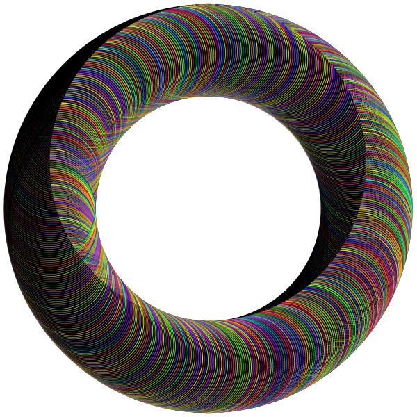 Polyprismatic Circular Frame With BG