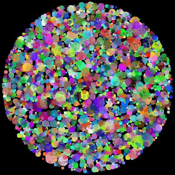 Circle Dots Prismatic