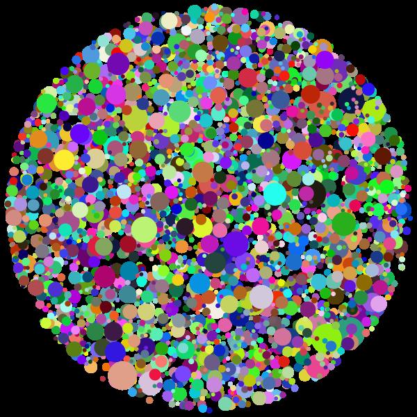 Circle Dots Prismatic 2