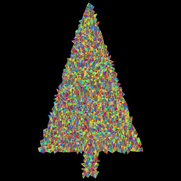 Abstract Christmas Tree Triangular Polyprismatic