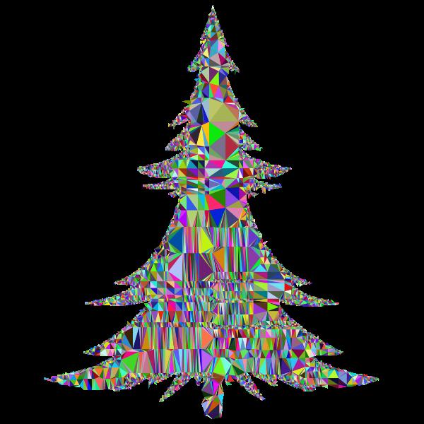Abstract Christmas Tree Mesh
