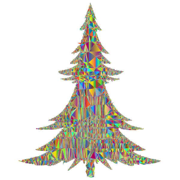 Abstract Christmas Tree Mesh Polyprismatic