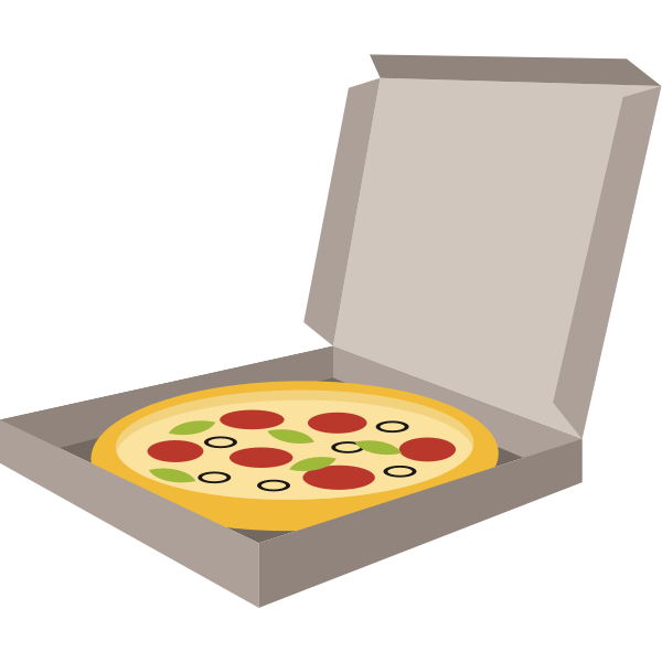 Pizza in box (#2)