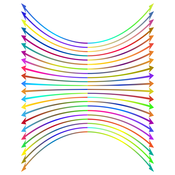 Arrows Perspective Polyprismatic