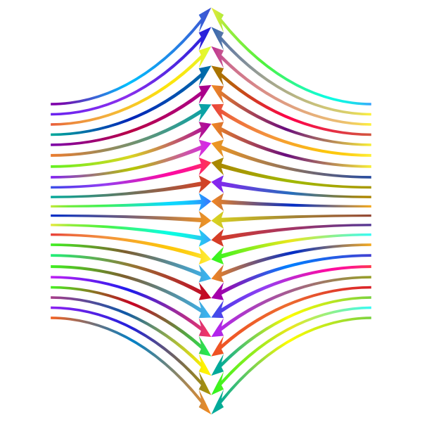 Arrows Perspective Polyprismatic Variation 2