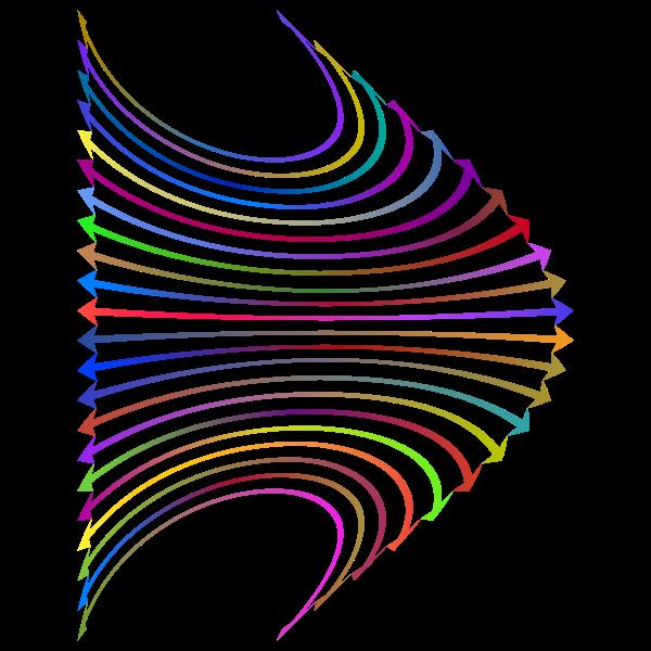 Arrows Perspective Design Polyprismatic