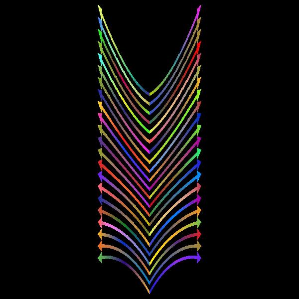 Arrows Design Polyprismatic