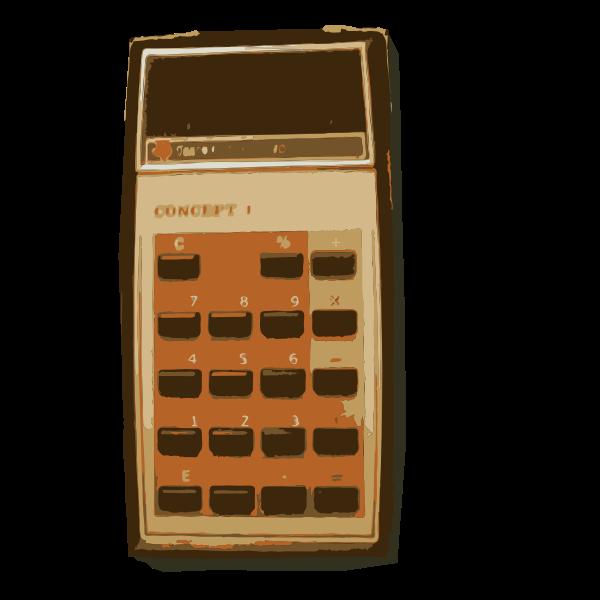 Grandma old TI Calculator